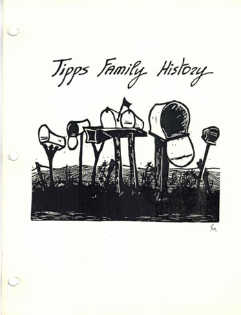 Tipps Family History cover